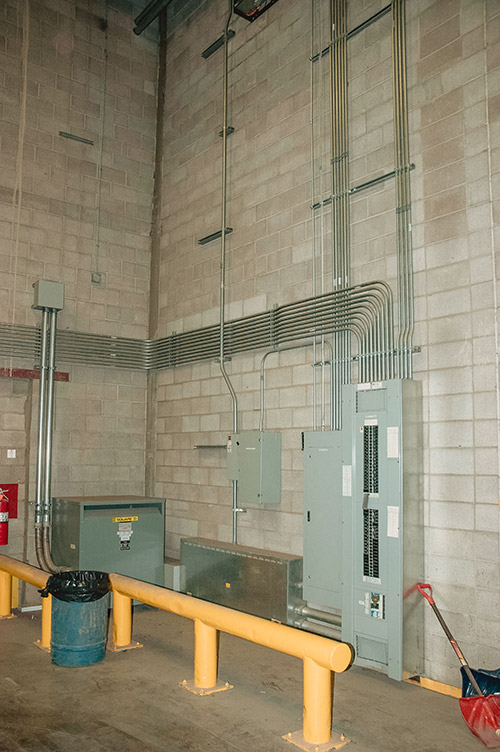 Distribution Panel and Transformer at Federated CO-OP
