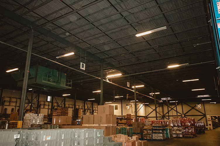 Lighting Retrofit and High Bay Fixtures at Federated CO-OP